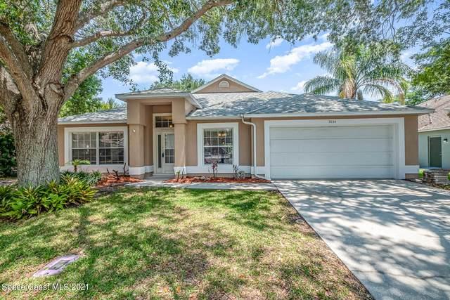 1634 Rustic Way, Melbourne, FL 32935 (MLS #903837) :: Blue Marlin Real Estate
