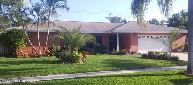 1213 Bay Drive E, Indian Harbour Beach, FL 32937 (MLS #904448) :: Blue Marlin Real Estate