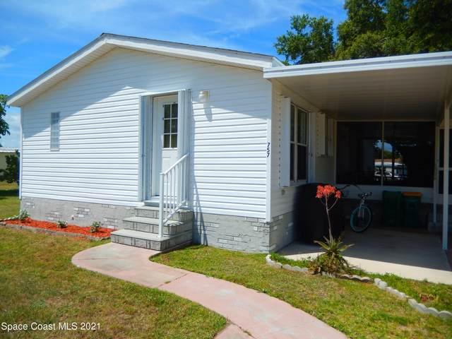 757 Pinewood Boulevard, Barefoot Bay, FL 32976 (MLS #904815) :: Armel Real Estate