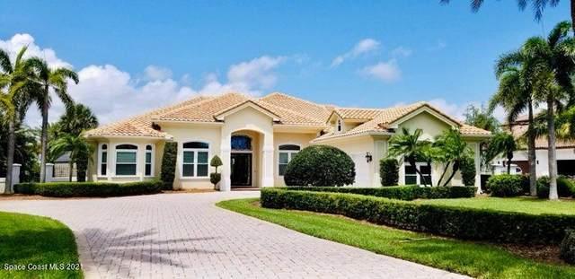 225 Lansing Island Drive, Indian Harbour Beach, FL 32937 (MLS #904981) :: Blue Marlin Real Estate