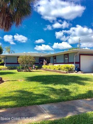109 Bel Aire Drive, Indian Harbour Beach, FL 32937 (MLS #907338) :: Premium Properties Real Estate Services