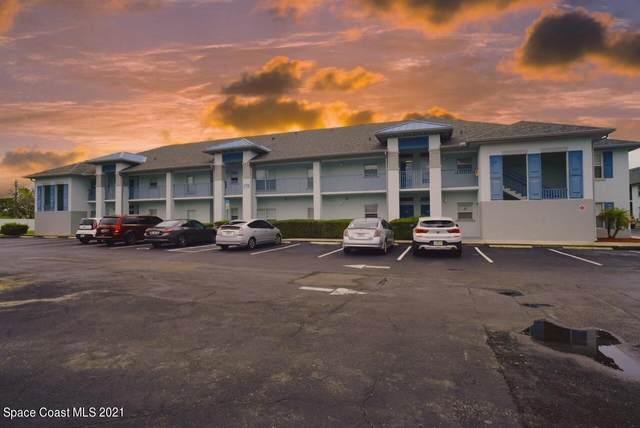 170 Portside Avenue #201, Cape Canaveral, FL 32920 (MLS #907617) :: Keller Williams Realty Brevard