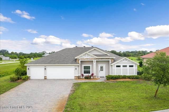 7158 Preserve Pointe Drive, Merritt Island, FL 32953 (MLS #907960) :: Blue Marlin Real Estate