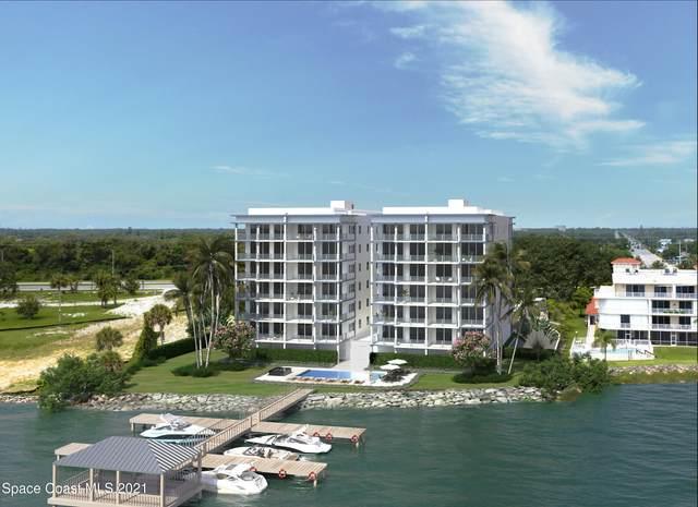 3995 N Harbor City Boulevard #502, Melbourne, FL 32935 (MLS #909039) :: Blue Marlin Real Estate