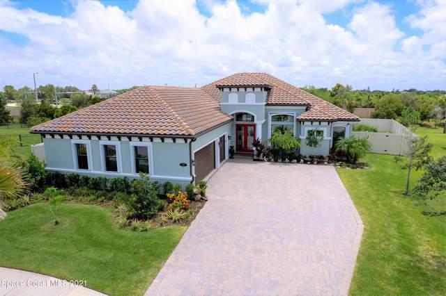 5217 Kirkwall Circle, Melbourne, FL 32940 (MLS #909929) :: Blue Marlin Real Estate