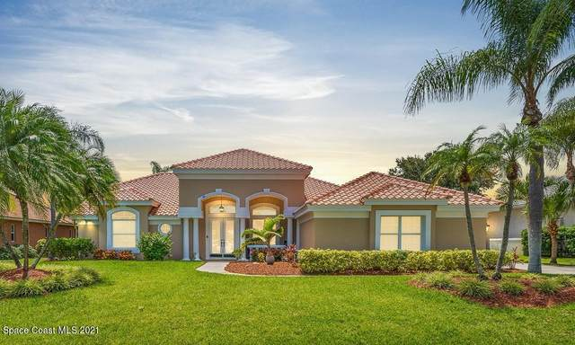 209 Lanternback Island Drive, Satellite Beach, FL 32937 (MLS #910193) :: Blue Marlin Real Estate