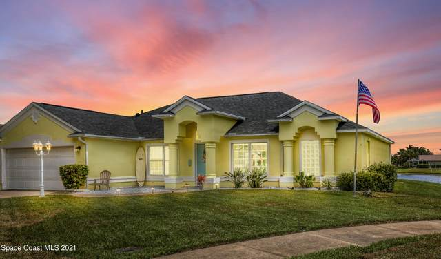 6102 Meghan Drive, Melbourne, FL 32940 (MLS #910484) :: Blue Marlin Real Estate