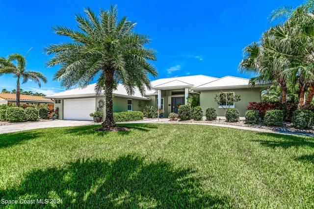 321 Hibiscus Trail, Melbourne Beach, FL 32951 (MLS #910609) :: Blue Marlin Real Estate