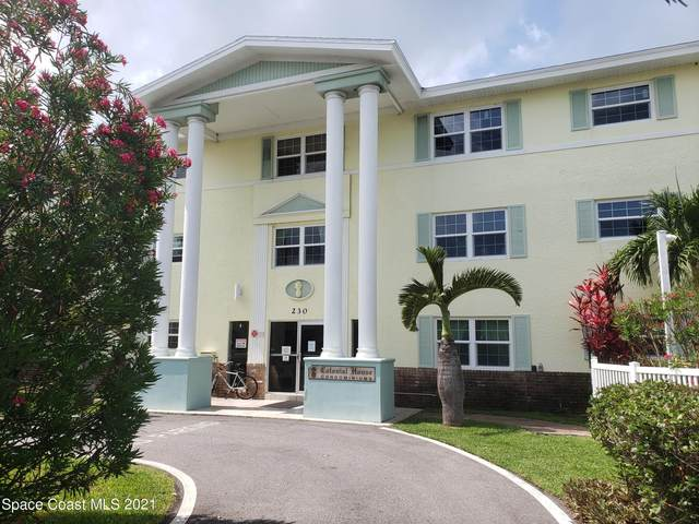 230 Columbia Drive #203, Cape Canaveral, FL 32920 (MLS #911205) :: Keller Williams Realty Brevard