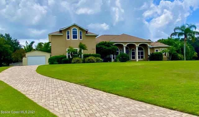 4141 Tradewinds Trail, Merritt Island, FL 32953 (MLS #911392) :: Keller Williams Realty Brevard