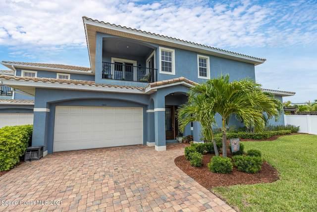 106 Mediterranean Way, Indian Harbour Beach, FL 32937 (MLS #911695) :: Keller Williams Realty Brevard