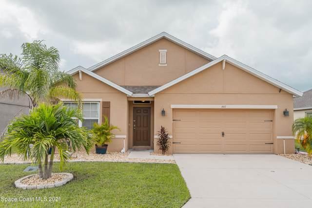 441 Great Falls Lane SW, Palm Bay, FL 32908 (MLS #912076) :: Blue Marlin Real Estate