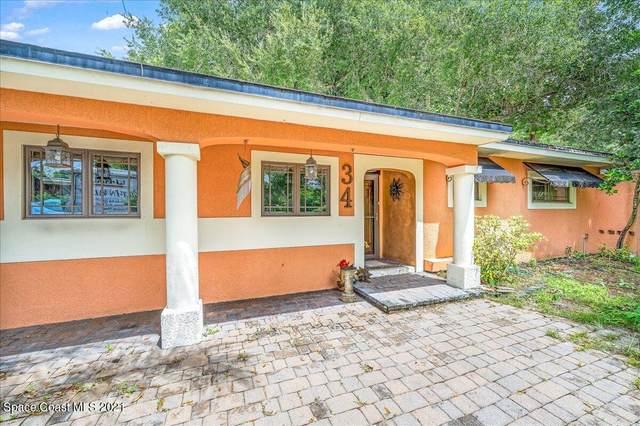 34 S Fernwood Drive, Rockledge, FL 32955 (MLS #913077) :: Blue Marlin Real Estate