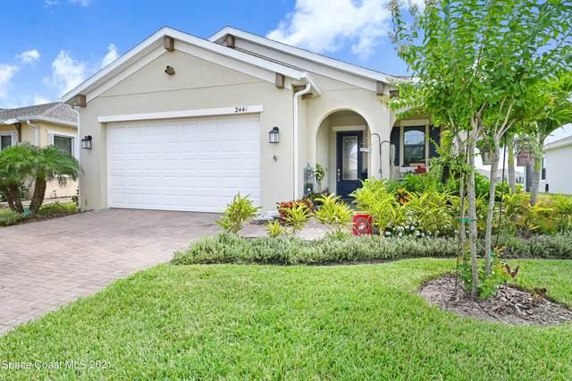2441 Treasure Cay Lane, Melbourne, FL 32940 (MLS #913877) :: Blue Marlin Real Estate