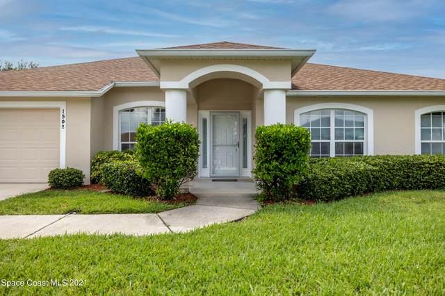 1502 Old Millpond Road, Melbourne, FL 32940 (MLS #914263) :: Blue Marlin Real Estate