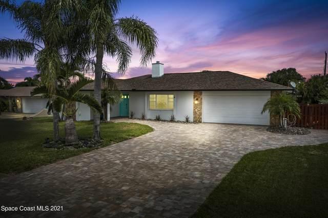 537 Carriage Circle, Satellite Beach, FL 32937 (MLS #914651) :: Keller Williams Realty Brevard