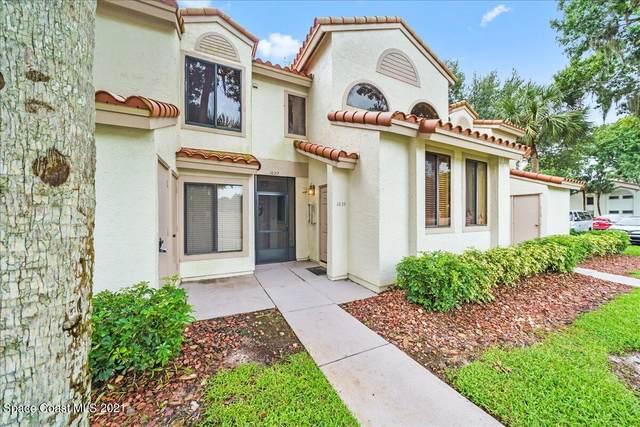 1039 Country Club Drive #425, Titusville, FL 32780 (MLS #916124) :: Keller Williams Realty Brevard