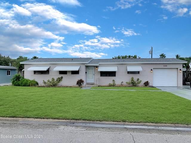 120 Churchill Avenue, Satellite Beach, FL 32937 (MLS #916420) :: Blue Marlin Real Estate