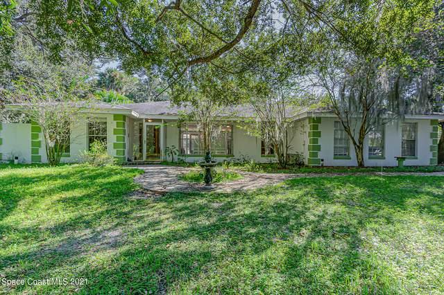 395 E Hall Road, Merritt Island, FL 32953 (MLS #917353) :: Premium Properties Real Estate Services