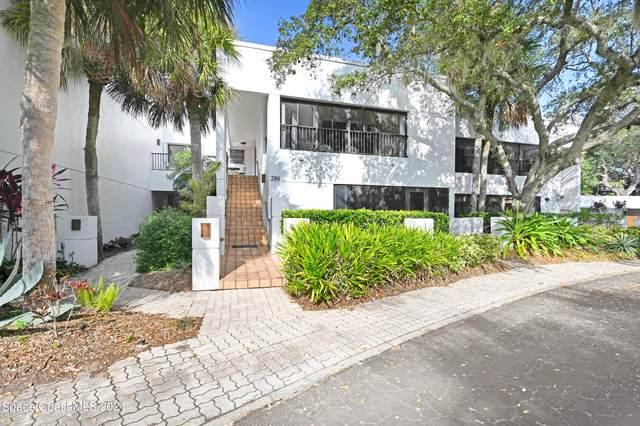 286 Aquarina Boulevard, Melbourne Beach, FL 32951 (MLS #917692) :: Premium Properties Real Estate Services