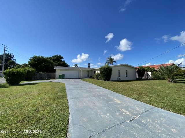 307 Carmine Drive, Cocoa Beach, FL 32931 (MLS #917885) :: Premium Properties Real Estate Services