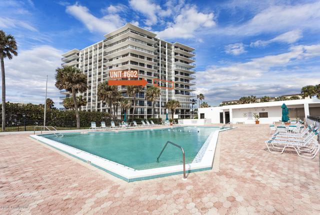2100 N Atlantic Avenue #602, Cocoa Beach, FL 32931 (MLS #821588) :: Pamela Myers Realty