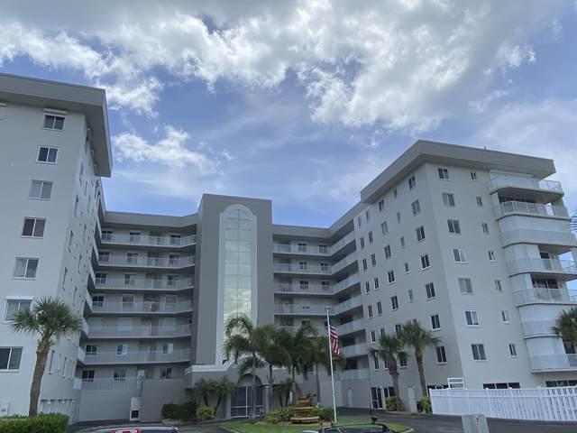 3740 Ocean Beach Boulevard #607, Cocoa Beach, FL 32931 (MLS #879518) :: Premium Properties Real Estate Services