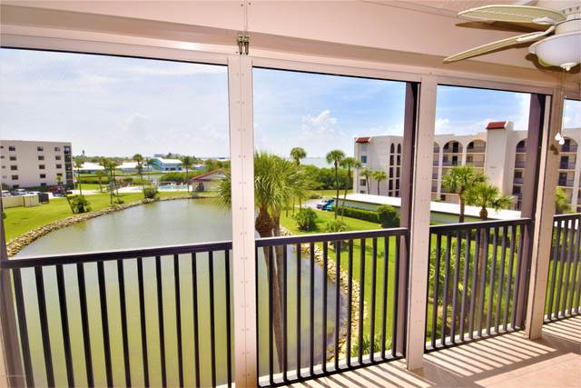 5805 N Banana River Boulevard #1143, Cape Canaveral, FL 32920 (MLS #879660) :: Blue Marlin Real Estate