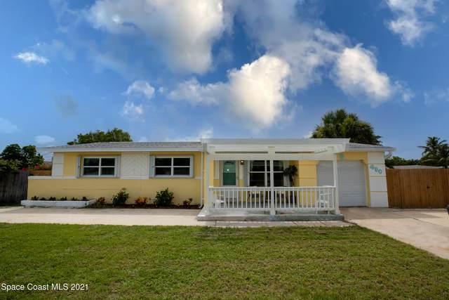 480 Sea Gull Drive, Satellite Beach, FL 32937 (MLS #907024) :: Keller Williams Realty Brevard