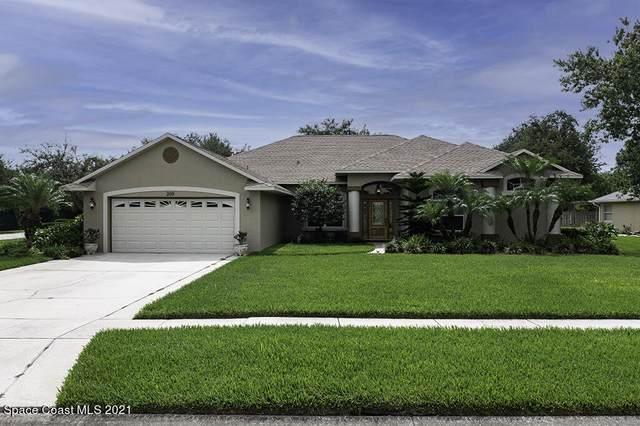 209 Ashbourne Court, Melbourne, FL 32940 (MLS #907889) :: Blue Marlin Real Estate