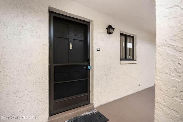 5800 N Banana River Boulevard #112, Cape Canaveral, FL 32920 (MLS #909630) :: Keller Williams Realty Brevard