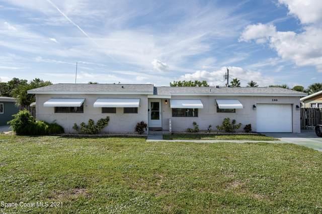 120 Churchill Avenue, Satellite Beach, FL 32937 (MLS #916420) :: Keller Williams Realty Brevard