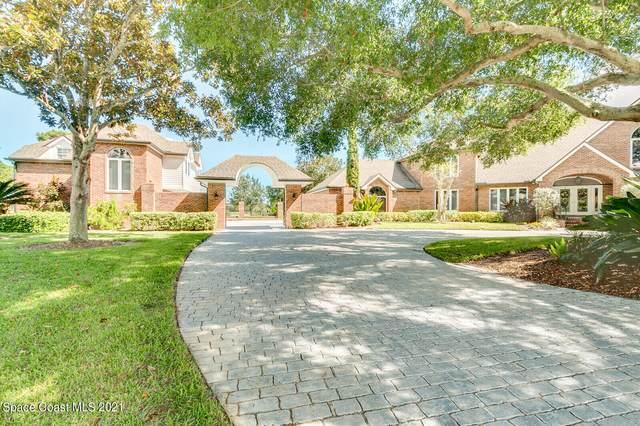 607 Woodbridge Drive, Melbourne, FL 32940 (MLS #918008) :: Dalton Wade Real Estate Group
