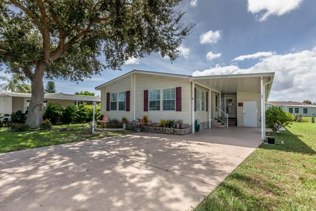 719 E Barefoot Boulevard, Barefoot Bay, FL 32976 (MLS #885849) :: Coldwell Banker Realty