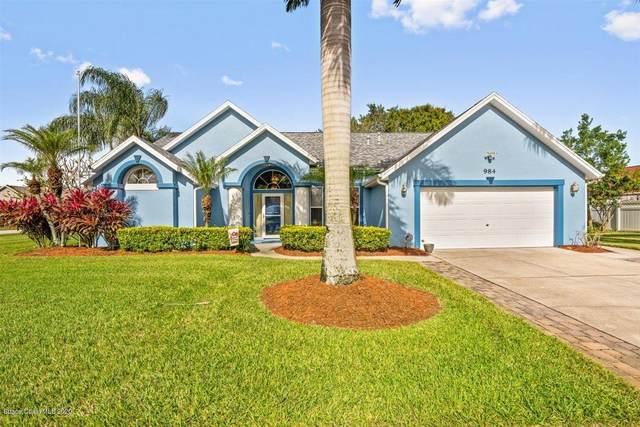 984 Pelican Lane, Rockledge, FL 32955 (MLS #889503) :: Premium Properties Real Estate Services