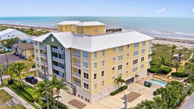 3409 S Atlantic Avenue #203, Cocoa Beach, FL 32931 (MLS #914239) :: Keller Williams Realty Brevard