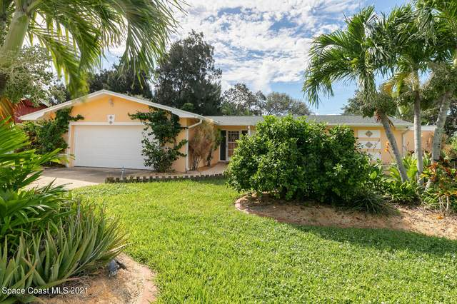 118 Surf Drive, Cocoa Beach, FL 32931 (MLS #917483) :: Premium Properties Real Estate Services
