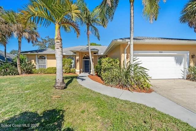 564 Hidden Hollow Drive, Merritt Island, FL 32952 (MLS #895418) :: Premium Properties Real Estate Services