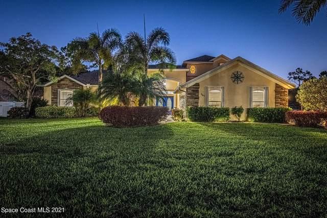 961 Easterwood Court SE, Palm Bay, FL 32909 (MLS #904533) :: Blue Marlin Real Estate