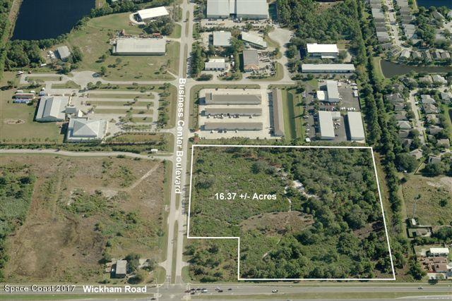 0 Wickham & Business Center Boulevard, Melbourne, FL 32935 (MLS #784341) :: Blue Marlin Real Estate