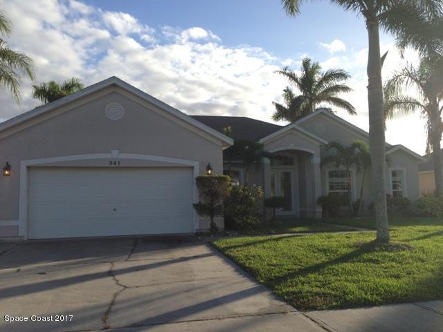 341 Tunbridge Drive, Rockledge, FL 32955 (MLS #798782) :: Better Homes and Gardens Real Estate Star