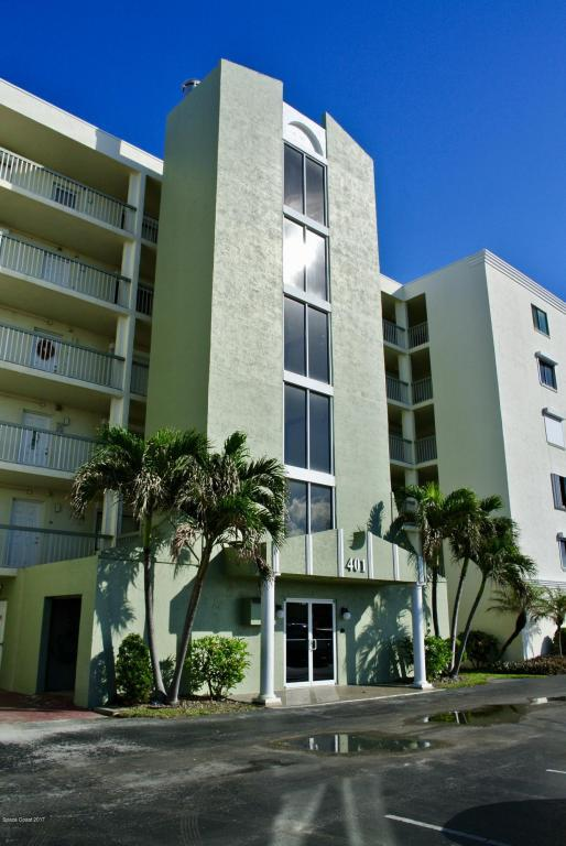 401 Highway A1a #121, Satellite Beach, FL 32937 (MLS #798994) :: Better Homes and Gardens Real Estate Star