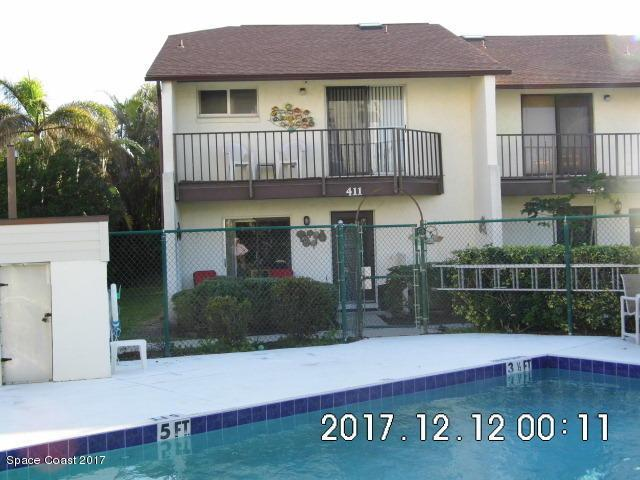 411 Hayes Avenue #10, Cocoa Beach, FL 32931 (MLS #800385) :: Premium Properties Real Estate Services