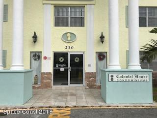 230 Columbia Drive #203, Cape Canaveral, FL 32920 (MLS #802304) :: Premium Properties Real Estate Services