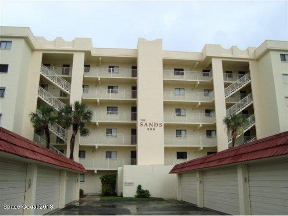 299 N Atlantic Avenue #602, Cocoa Beach, FL 32931 (MLS #805545) :: Better Homes and Gardens Real Estate Star