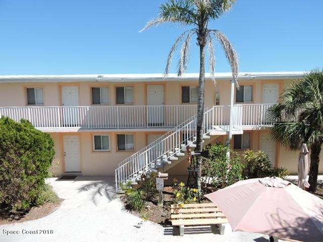 211 Circle Drive #6, Cape Canaveral, FL 32920 (MLS #808352) :: Pamela Myers Realty