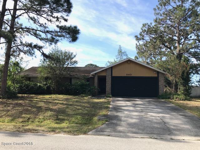 840 Merrimac Street SE, Palm Bay, FL 32909 (MLS #809499) :: Pamela Myers Realty