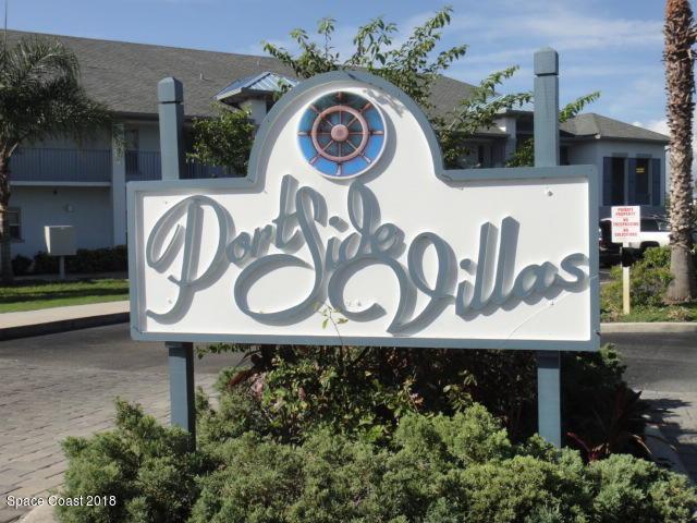 180 Portside Avenue #201, Cape Canaveral, FL 32920 (MLS #810159) :: Pamela Myers Realty