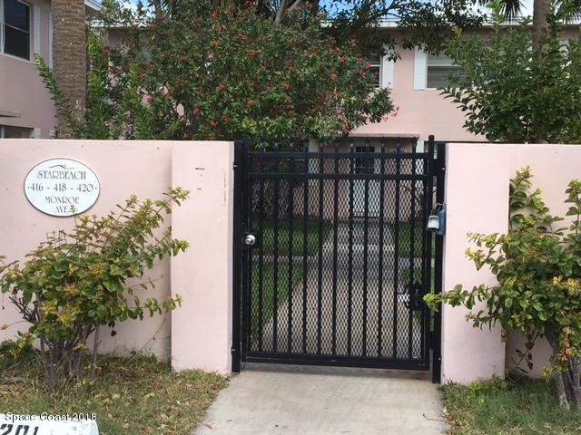 416 Monroe Avenue #202, Cape Canaveral, FL 32920 (MLS #811334) :: Better Homes and Gardens Real Estate Star