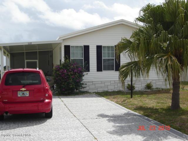 1112 Barefoot Circle, Barefoot Bay, FL 32976 (MLS #814334) :: Pamela Myers Realty